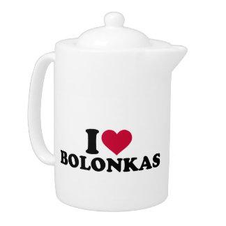 I love Bolonkas Teapot