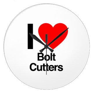 i love bolt cutters clock