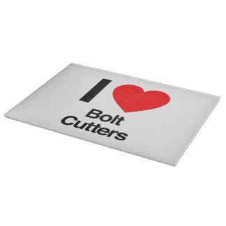 i love bolt cutters cutting boards