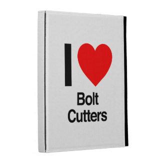 i love bolt cutters iPad cases