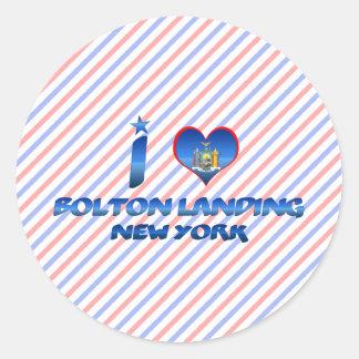 I love Bolton Landing, New York Sticker