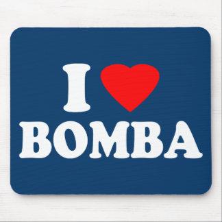 I Love Bomba Mouse Pad