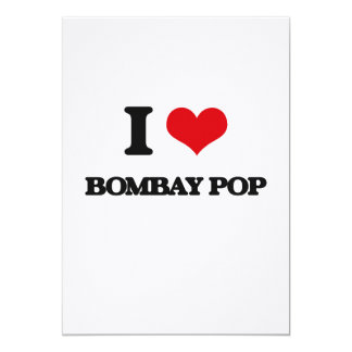 I Love BOMBAY POP Personalized Announcements