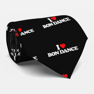 I LOVE BON DANCE TIE