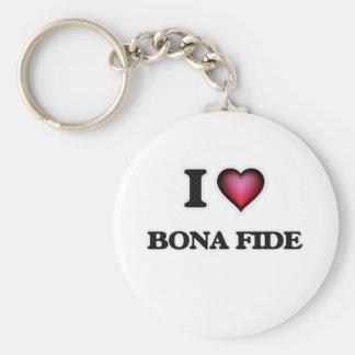 I Love Bona Fide Keychain