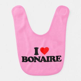 I LOVE BONAIRE BABY BIB