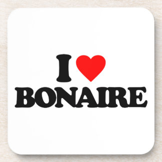 I LOVE BONAIRE COASTERS