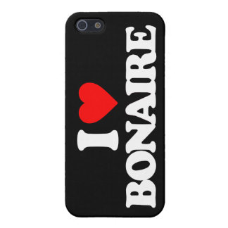 I LOVE BONAIRE CASES FOR iPhone 5