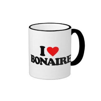 I LOVE BONAIRE COFFEE MUGS