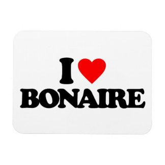 I LOVE BONAIRE VINYL MAGNET