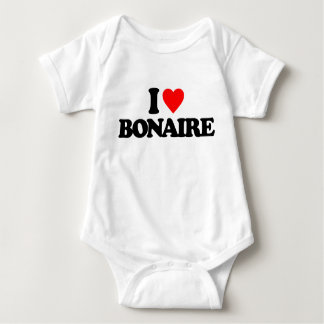 I LOVE BONAIRE T SHIRTS