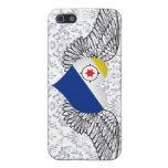 I Love Bonaire -wings iPhone 5 Cases