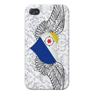 I Love Bonaire -wings iPhone 4 Case