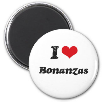 I Love BONANZAS Magnets