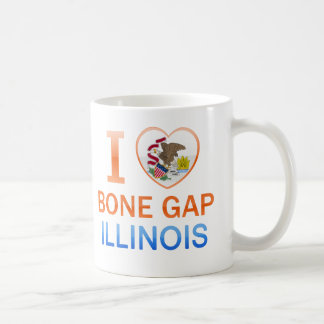 I Love Bone Gap, IL Classic White Coffee Mug