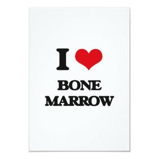 I Love Bone Marrow Announcement Card