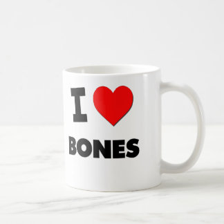 I Love Bones Coffee Mug