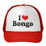 I Love Bongo Trucker Hat