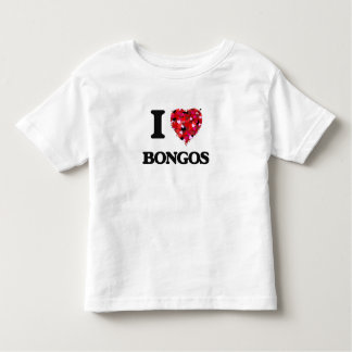 I Love Bongos T-shirt