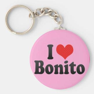 I Love Bonito Key Chain