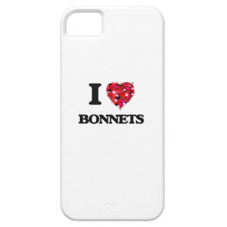 I Love Bonnets iPhone 5 Cases