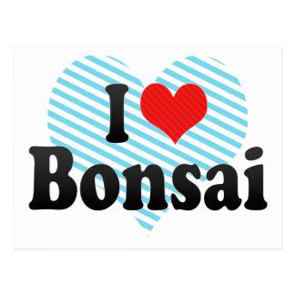 I Love Bonsai Postcard