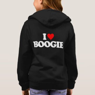 I LOVE BOOGIE HOODIE
