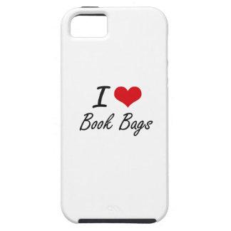I Love Book Bags Artistic Design iPhone 5 Cases