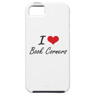 I Love Book Corners Artistic Design iPhone 5 Case