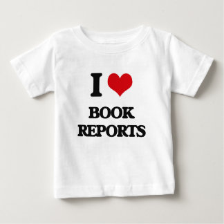 I Love Book Reports Shirt