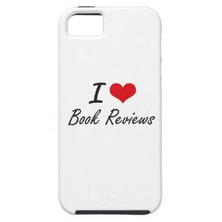 I Love Book Reviews Artistic Design iPhone 5 Case
