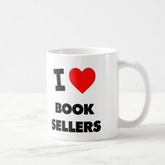 I Love Book Sellers Classic White Coffee Mug