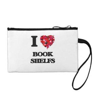 I Love Book Shelfs Coin Purses