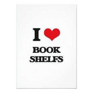 I Love Book Shelfs Cards
