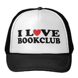 I Love Bookclub Trucker Hat
