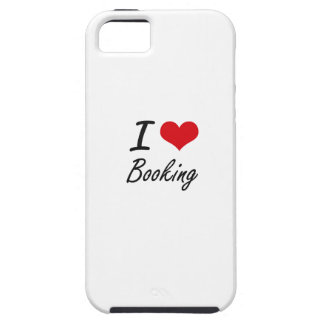 I Love Booking Artistic Design iPhone 5 Cover