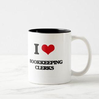 I love Bookkeeping Clerks Coffee Mug