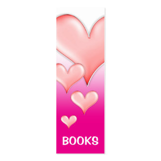 I Love Books! bookmark for every books lovers! Mini Business Card
