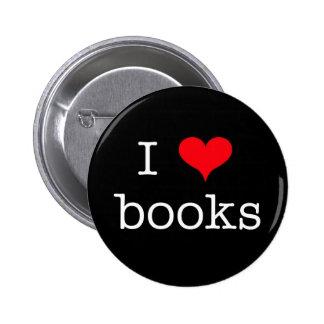 i LOVE books Pin