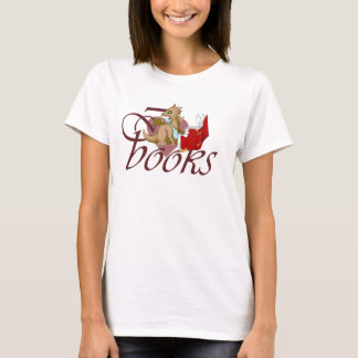 I Love Books Dragon T-Shirt 5