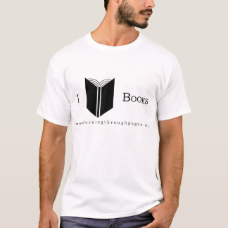 I Love Books - Shirt
