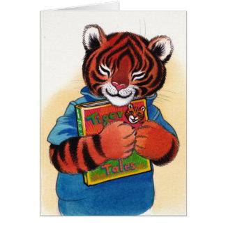 I love books thank you card