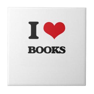 I Love Books Tile