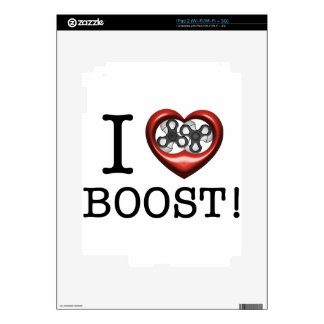 I love Boost - Supercharger Decal For The iPad 2