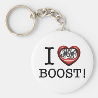 I love Boost - Supercharger Keychain