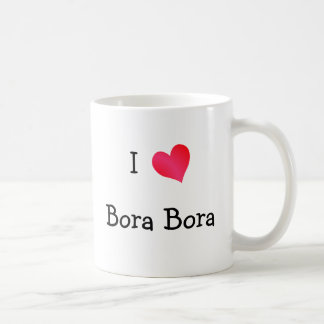 I Love Bora Bora Coffee Mug