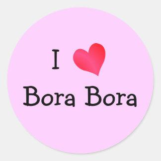 I Love Bora Bora Sticker