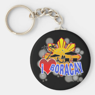 I Love Boracay Key Chains