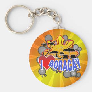 I Love Boracay Keychain