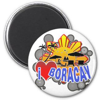 I Love Boracay Fridge Magnets